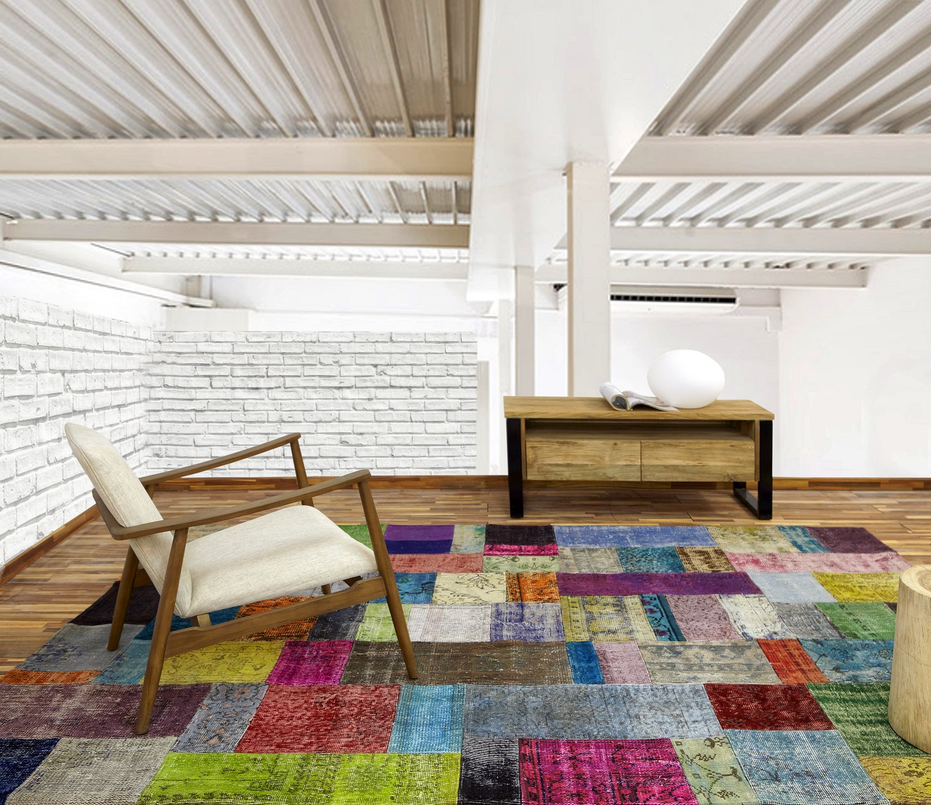 Patchwork parentesi quadra alfombras valencia for Alfombras de buena calidad