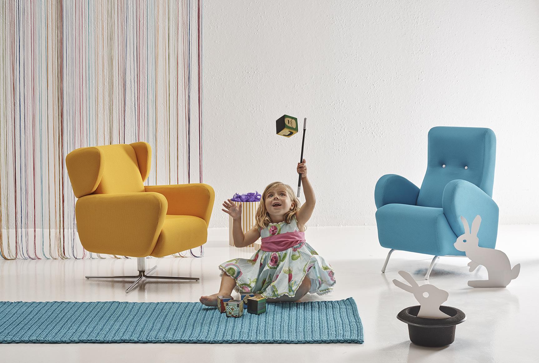 Alfombras infantiles, la importancia del color