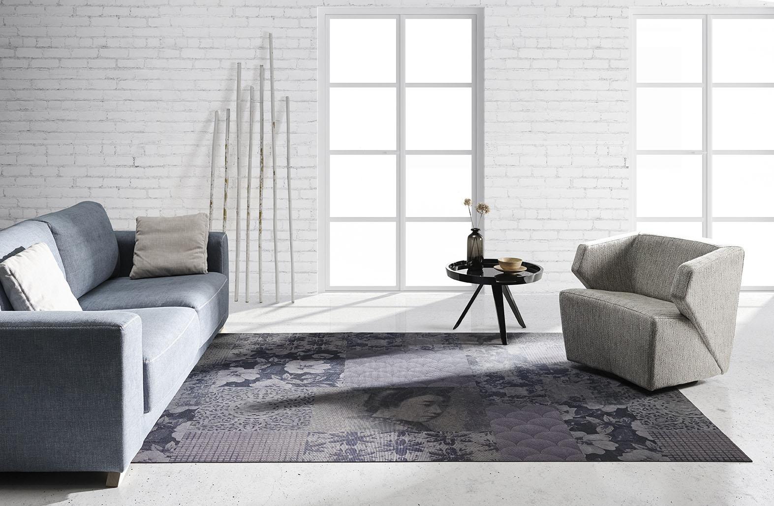 Alfombra Legend, estilo y diseño.