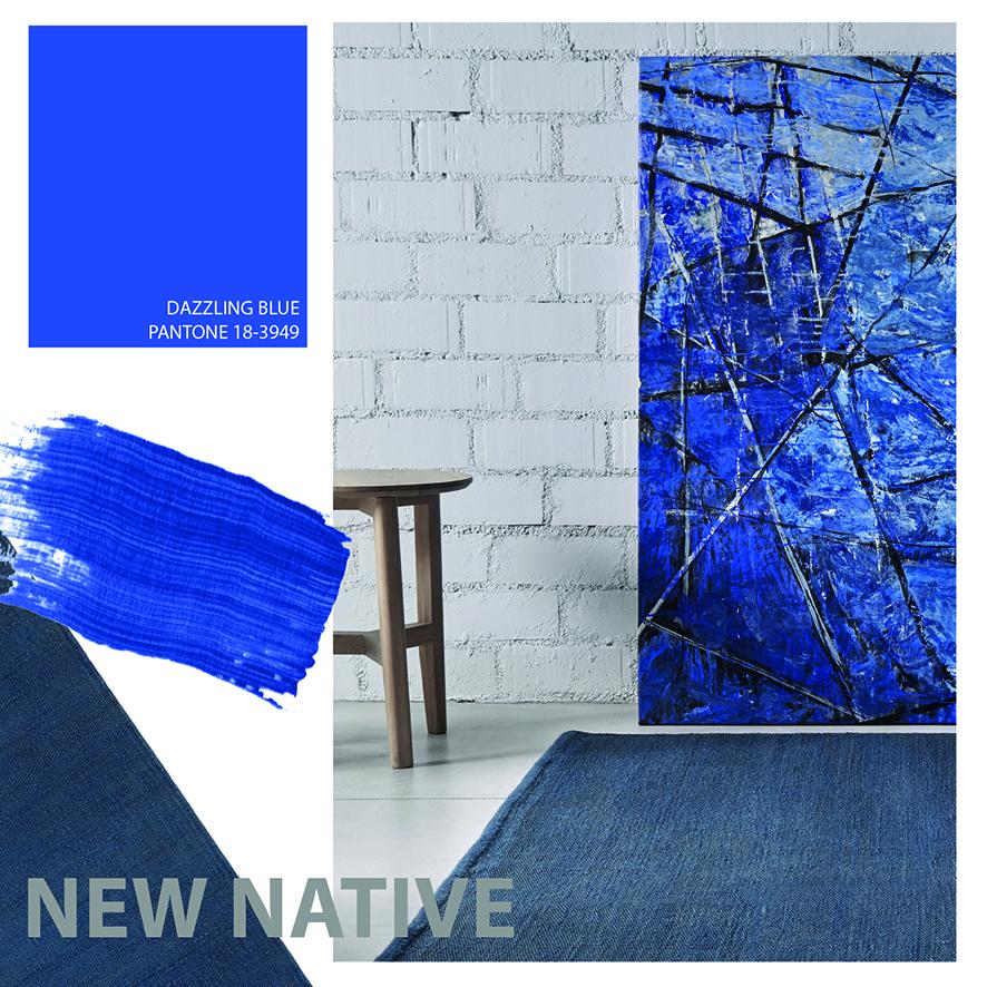 Color Dazzing Blue, serenidad y responsabilidad