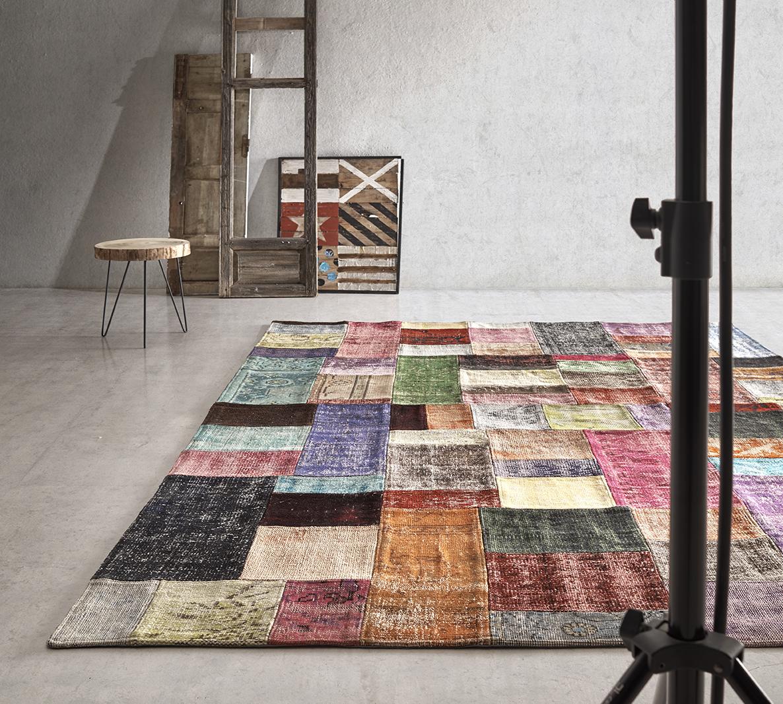 Alfombras patchwork un producto con mucha historia for Alfombras persas historia