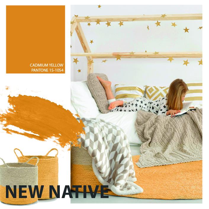 Color Cadmium Yellow, equilibrio y alegría en tu hogar.