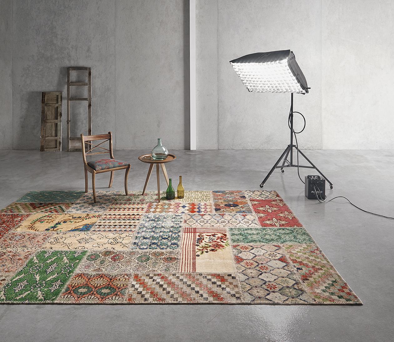 Alfombras patchwork, producto artesanal