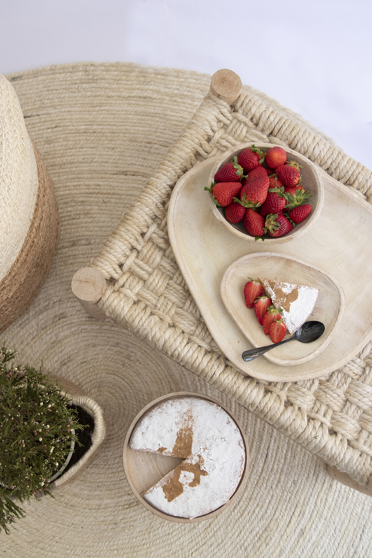 El yute, decoración fresca y mediterranea